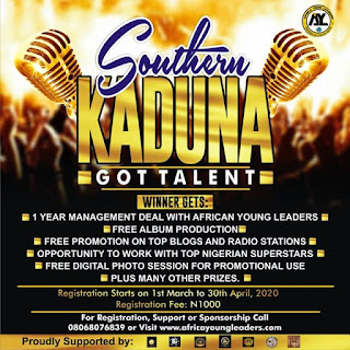 Register for Southern Kaduna's Got Talent