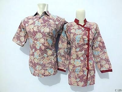 Gambar Baju Batik Guru Modern
