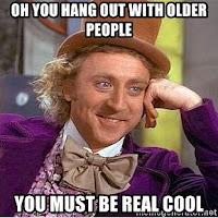 old folks cool