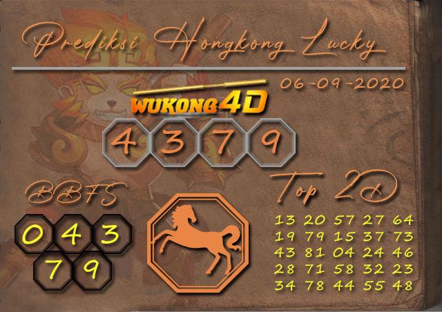 Prediksi Togel HONGKONG LUCKY 7 WUKONG4D 06 SEPTEMBER 2020
