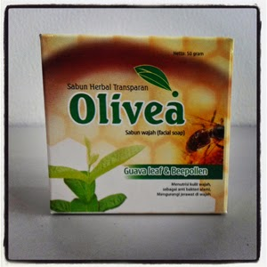Sabun Wajah Olivea Guava leaf & Beepollen