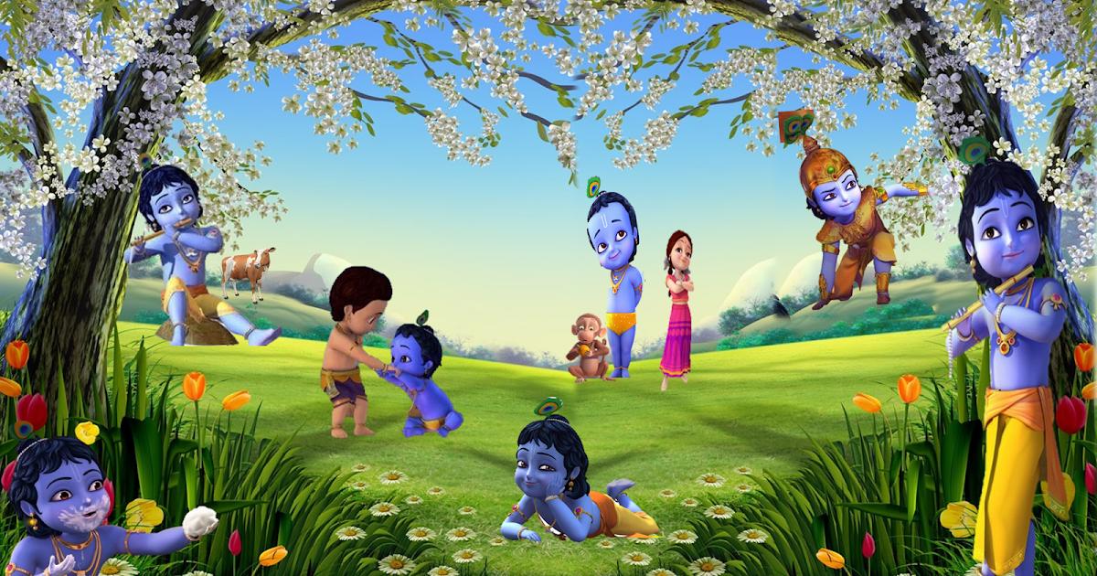 Disney+Cartoon+Little+Krishna+HD+Wallpapers6