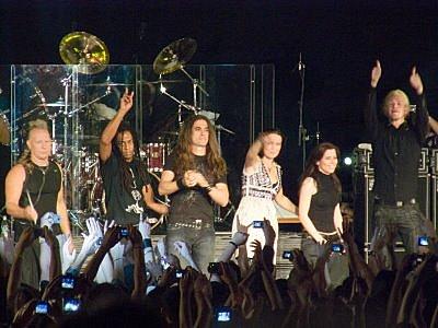 Tarja Turunen no Canecão em 2008: a volta por cima da musa do Heavy Metal
