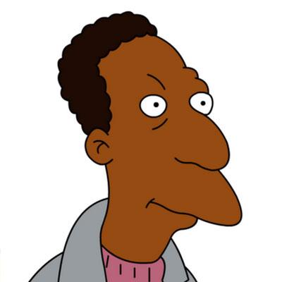 Los Simpson Personaje Carl