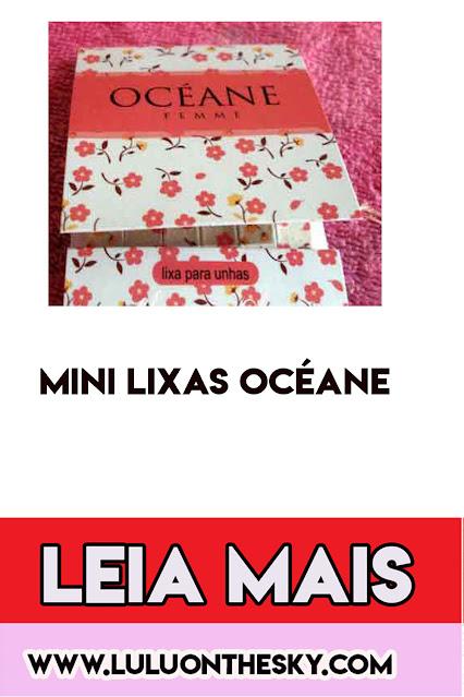 Mini lixas Océane Femme