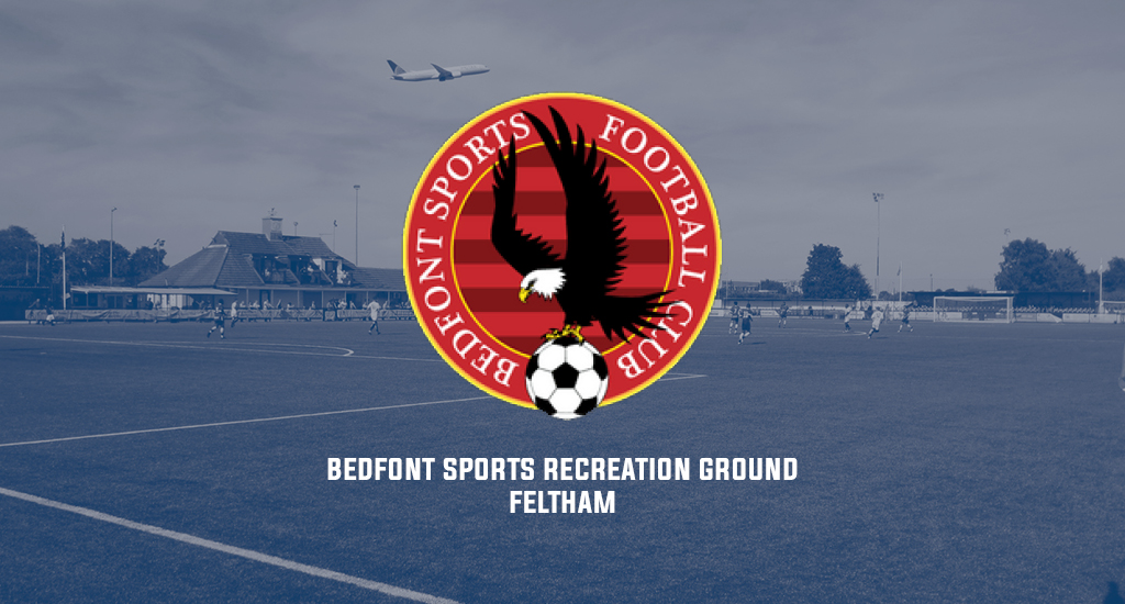 Bedfont Sports Recreation Ground and Bedfont Sports FC logo