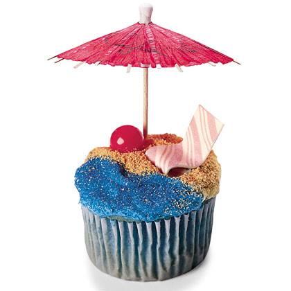 Ultimate Beach Cupcakes Recipe
