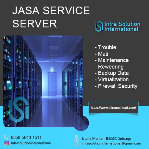 Jasa Service Server Denpasar