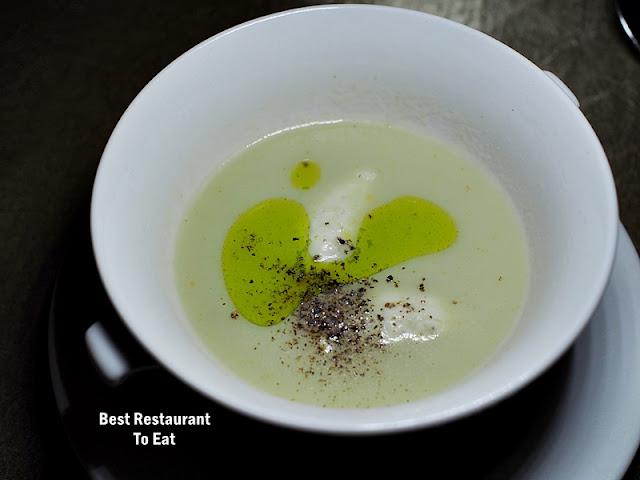 Cono Sur Wine Pairing Dinner Menu - Jerusalem Artichoke Veloute