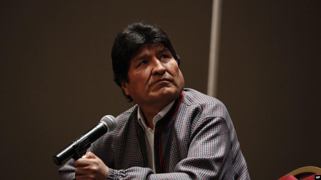 El expresidente de Bolivia Evo Morales se asió en México, tras renunciar a su cargo después de las disputadas elecciones del 20 de octubre / AP