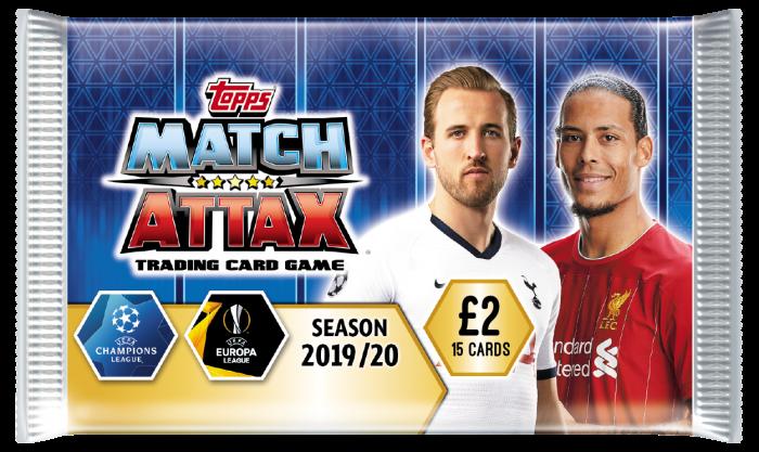 Match Attax Liga de Campeones 19//20 Virgil van Dijk Liverpool 100 Club Nº 323
