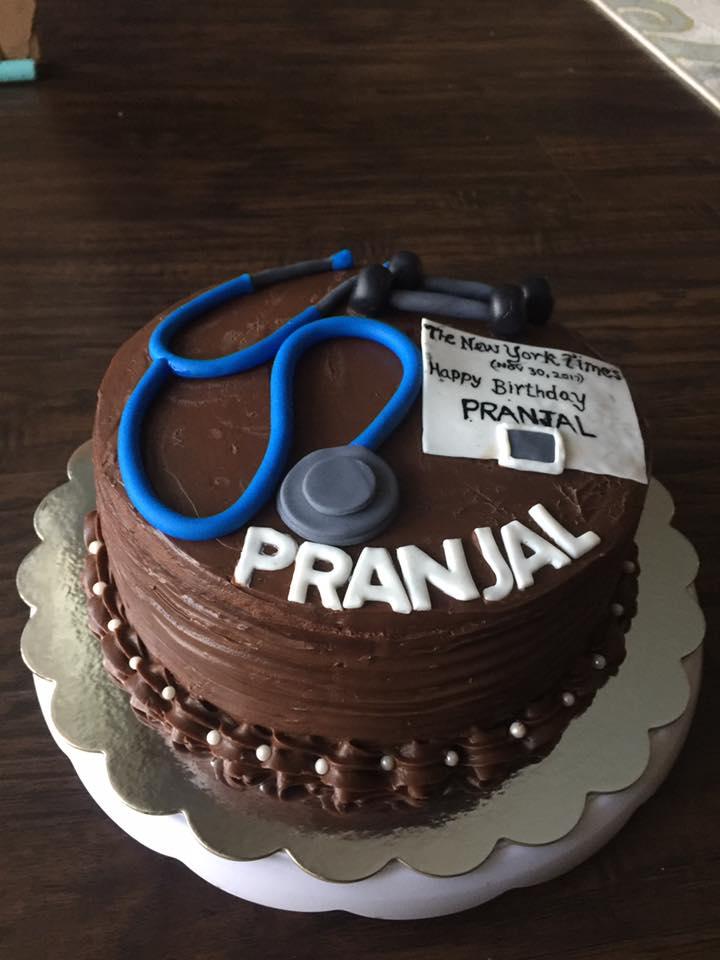Dream Cakes DOCTOR BIRTHDAY CAKE