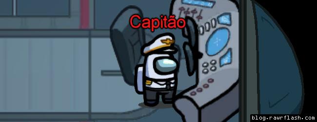 Among Us nome para usar meta o capitão