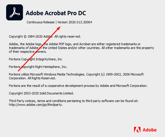 Download Adobe Acrobat Pro DC 2020.13.20064