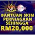 Permohonan Skim Bantuan Perniagaan RM1000 Hingga RM20,000 Untuk Usahawan Terjejas
