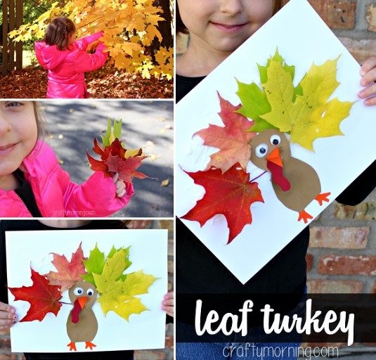 Funny Thanksgiving Kid Crafts Activity