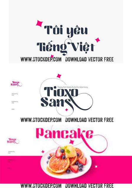 Download Fonst Tioxo Sans Tiếng Việt