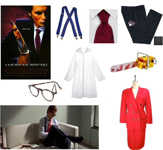 American Psycho Costume  sc 1 st  Thrift Core & Creative Last-Second Thrifty Halloween Costumes: For Couples ...