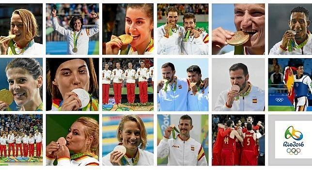 Cosas mías, coses meues: Medallistas españoles en Río