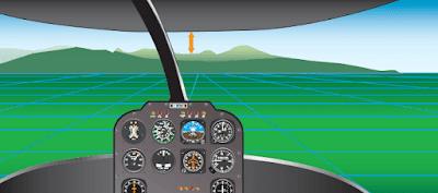 Helicopter flight maneuver
