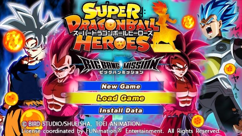 Super Dragon Ball Heroes DBZ TTT MOD With Permanent Menu Download