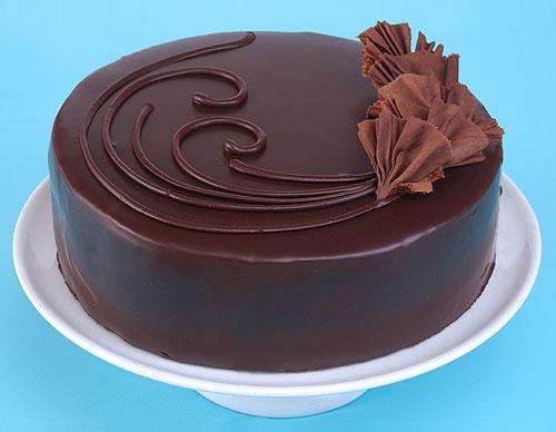 Chocolate Ganache Cake Recipe Dishmaps