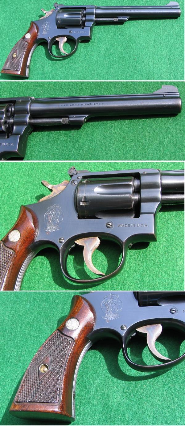 Revólver Smith Wesson Modelo K-22 | Armas de Fuego