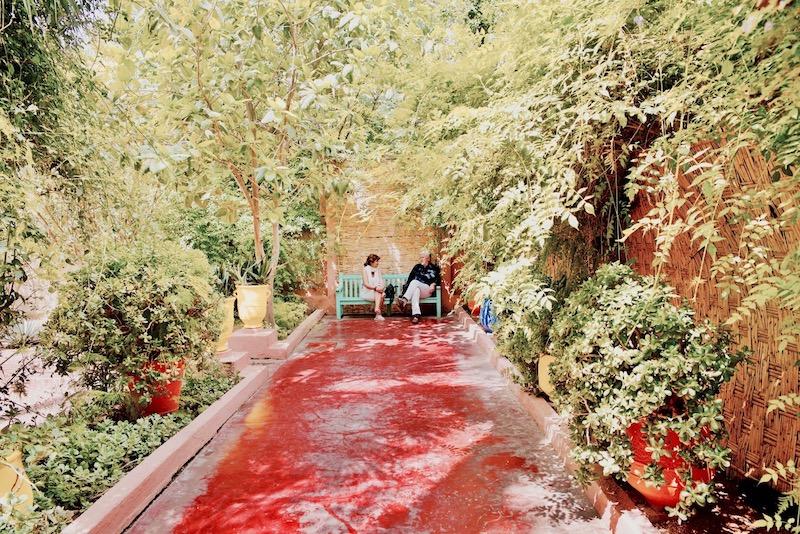 marrakesz ogród majorelle, Marrakesz ogród ysl Laurent Jardin majorelle co zobaczyć