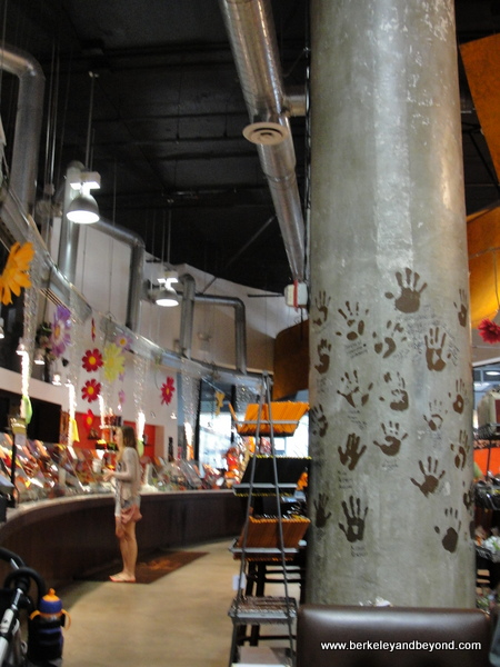 interior of Jacques Torres Chocolate Haven in NYC