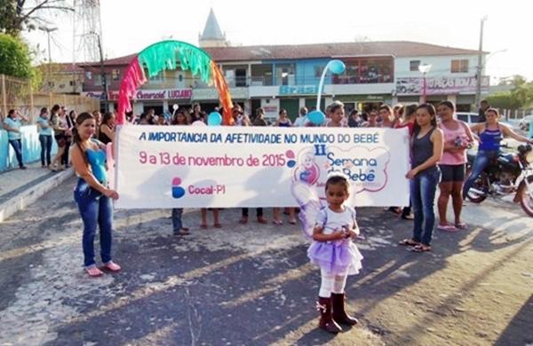 2ª Semana do Bebê tem início em Cocal com caminhada infantil - Imagem 1