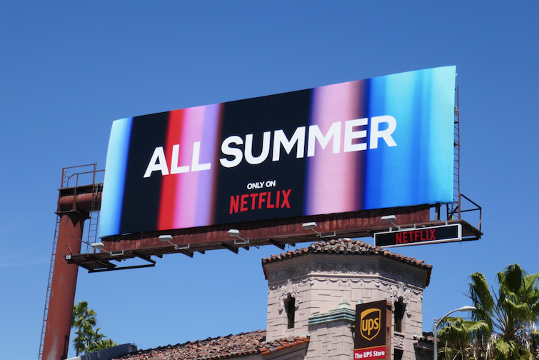 All Summer only on Netflix billboard