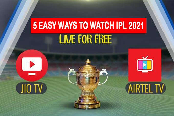 IPL 2021 Live Streaming & Live TV Channels Telecast List 2021