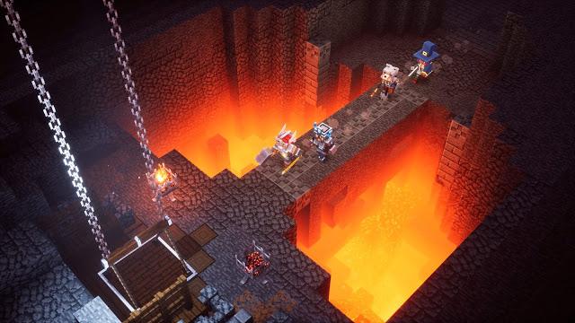 Minecraft-Dungeons-Gameplay