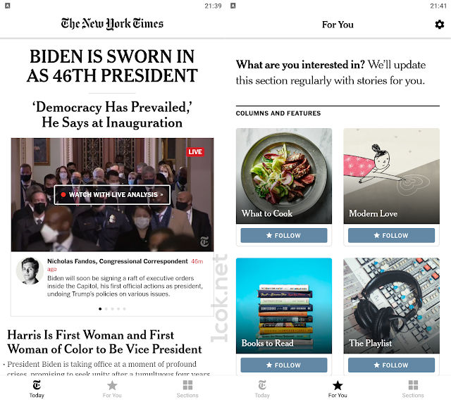 The best news apps - NYT
