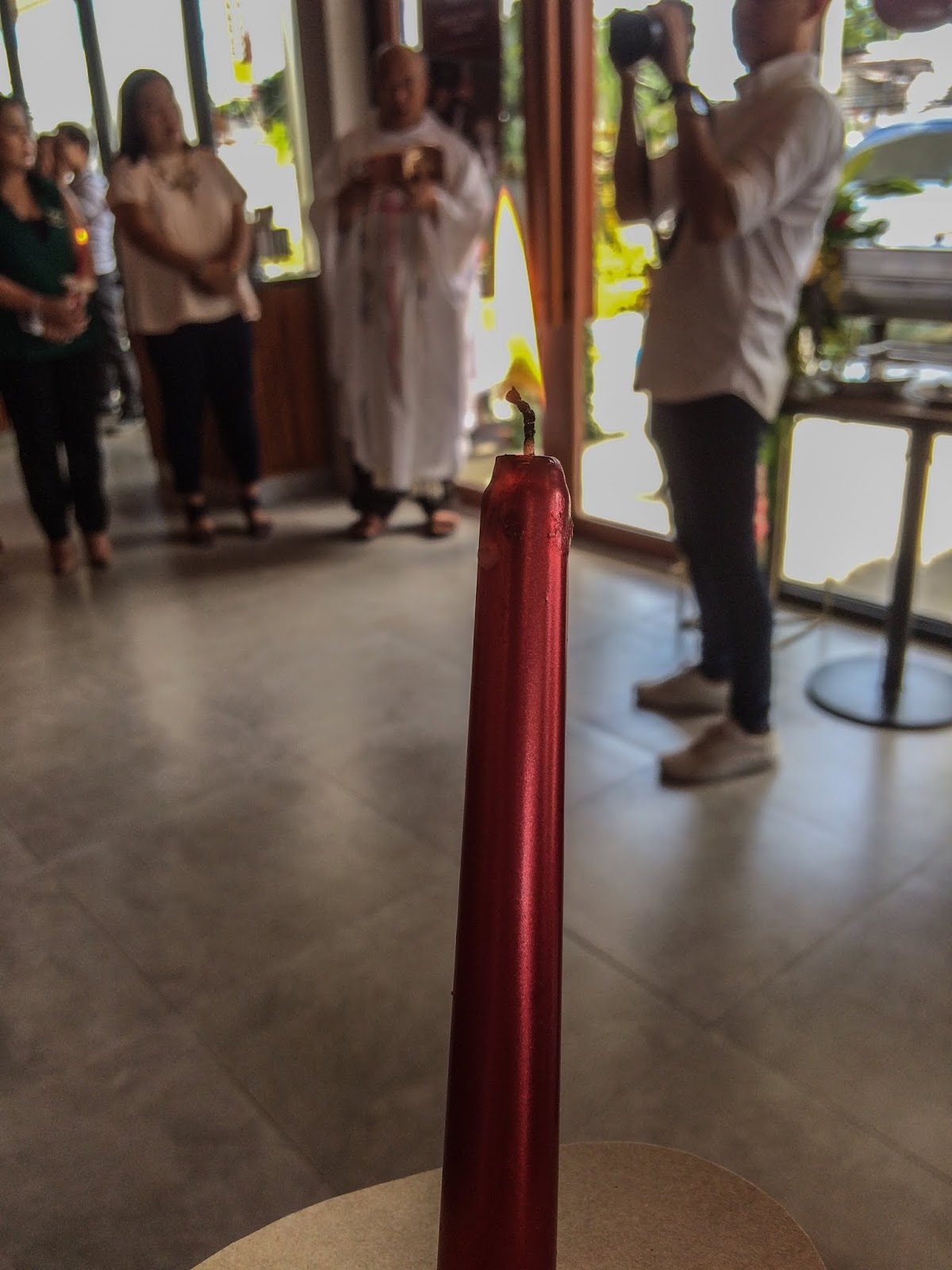 Bos Coffee Mactan Town Center Blessing Ceremony