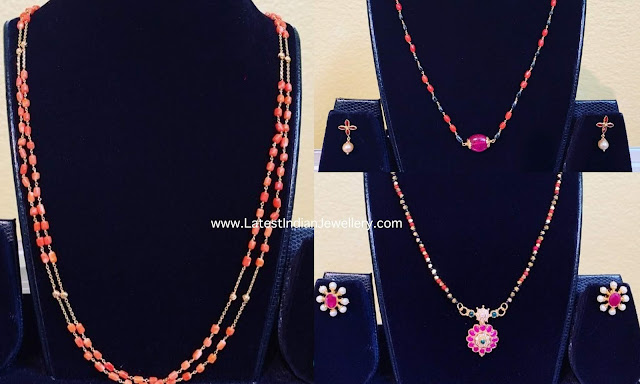 Lightweight Coral Chains