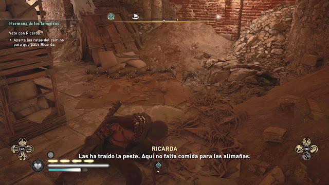 Ratas Peste Análisis de Assassin's Creed Valhalla El asedio de París para PlayStation 4