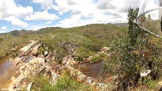 Cachoeira do Moinho em Milho Verde/MG.