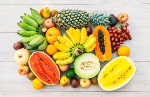 Useful and delicious fruits
