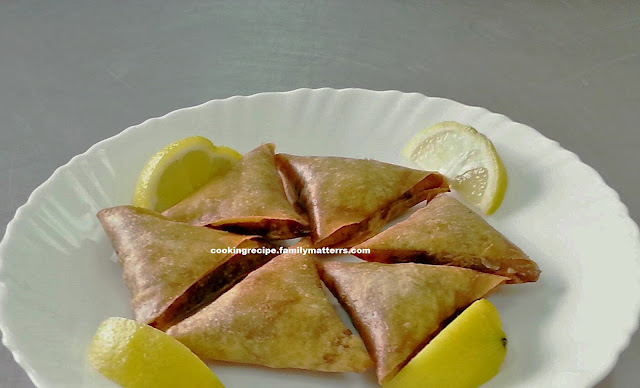MINCED MEAT SAMOSA