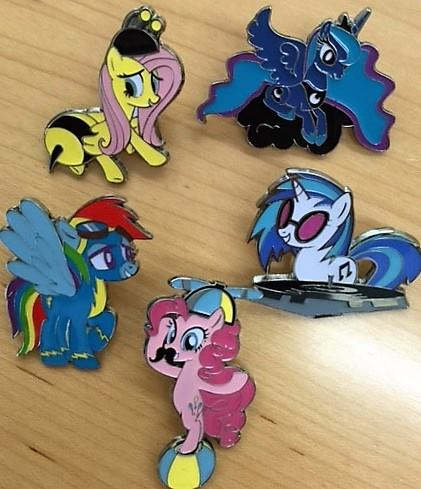 New My Little Pony Collectors Pins