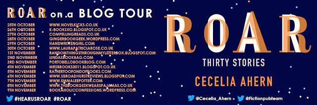 Roar by Cecelia Ahern blog tour banner