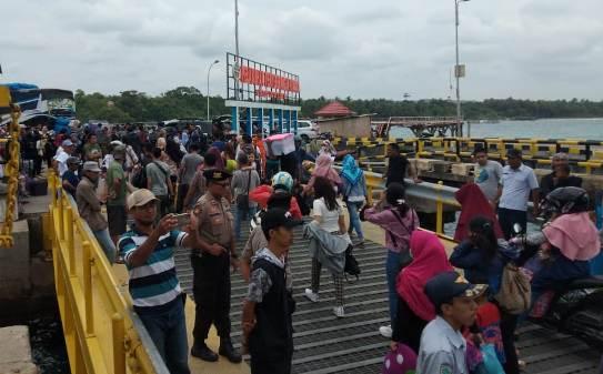 H - 3 Mudik Ke Selayar 2019, Seribuan Lebih Pemudik, Diangkut 6 Trip Kapal fery