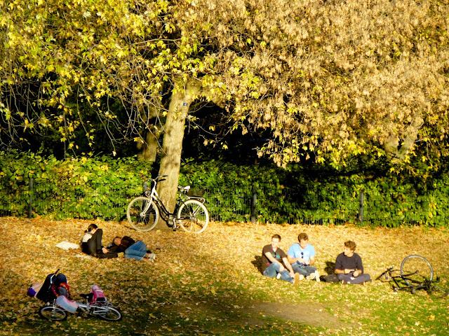 A orillas del Spree en Tiergarten