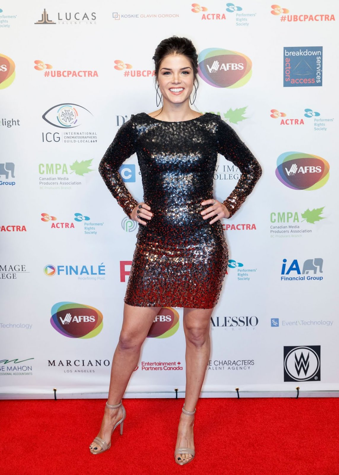 Photos of Hot & Sexy Marie Avgeropoulos at 6th Annual UBCP/ACTRA Awards in Vancouver
