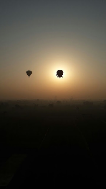 Key Highlights of the Day: Taj Balloon Festival