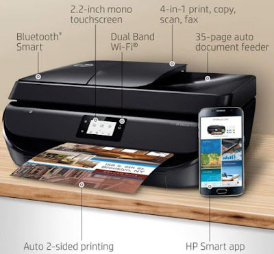HP OfficeJet 5260 Wireless All-in-One Printer Review - Free Download Driver