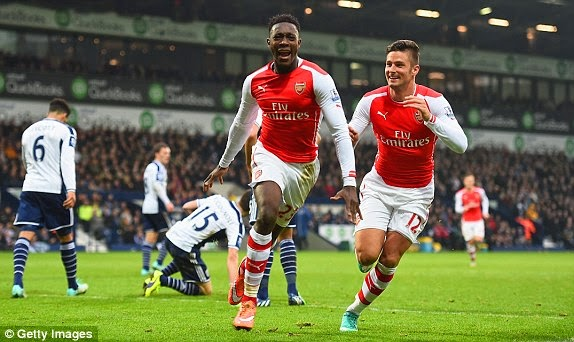 Risultato West Brom 0 - 1 Arsenal di Premier League