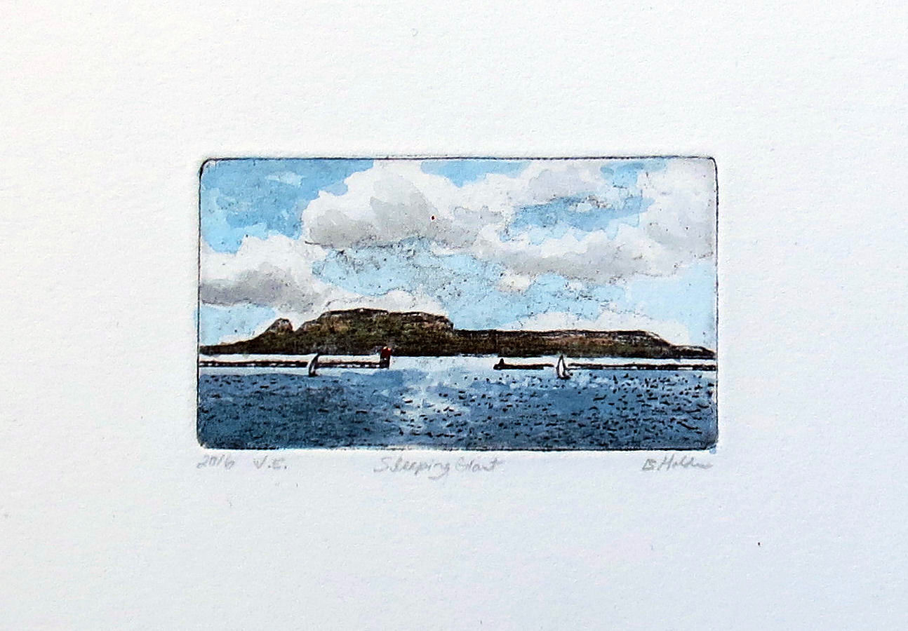 My Printmaking Journey: miniature etchings from photopolymer