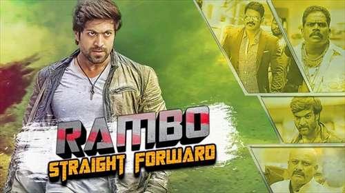 Rambo Straight Forward 2018 Hindi Dubbed 450MB HDRip 480p